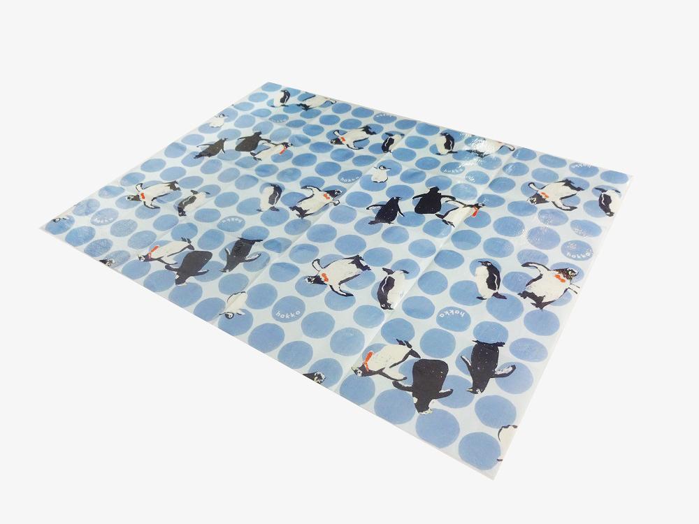 ドットペンギン柄レジャーシート2a_sizes1