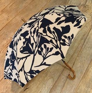 花のカタチプリント晴雨兼用傘