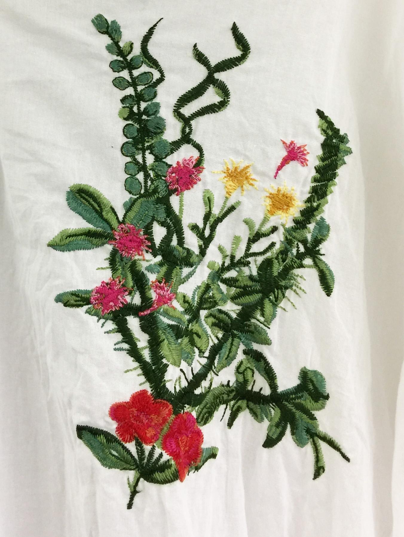 刺繡:フラワー